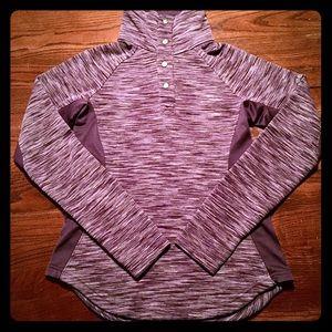 COLUMBIA 1/4 Quarter Zip Button Sweater Jacket XS